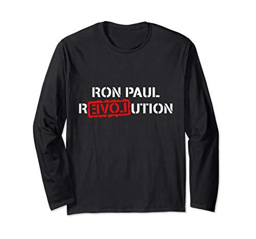 (Ron Paul Revolution Long Sleeve T-Shirt)