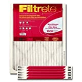 Filtrete Micro Allergen Reduction Furnace Filter, 20 x 25, 6 Per Carton