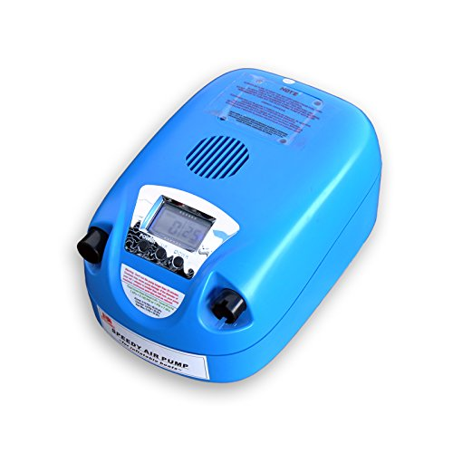 UPC 020616991622, Seamax Blue Portable 12V Electric Air Pump 1-12 PSI for Inflatable Boat, Inflatable Kayak and More (No Battery)