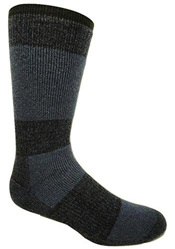 Winter Sock- J.B. Field's -30 Below XLR Sock (Medium (Women's 5-9/Men's 4-8), Denim) - 2 Pairs