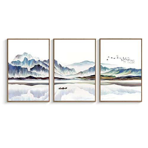 NWT Framed Canvas Wall Art for Living Room, Bedroom Canvas Prints for Home Decoration Ready to Hanging - 24
