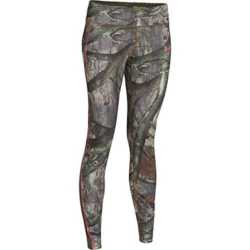 Under Armour UA Coldgear Infrared Scent Control Evo Legging - Women's Mossy Oak Treestand / Perfection XL