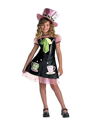 Disguise Mad Hatter Costume - Medium (7-8) -