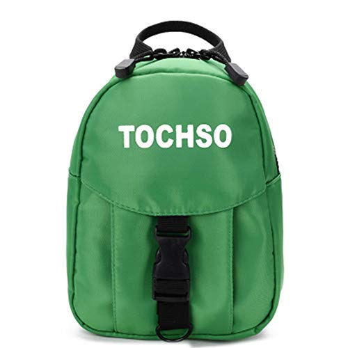 Harness Backpack for Toddlers,Cute Leashes Backpack for Baby Girls and Baby Boys Zoo Animals Preschool Baby Bag (Green/F)