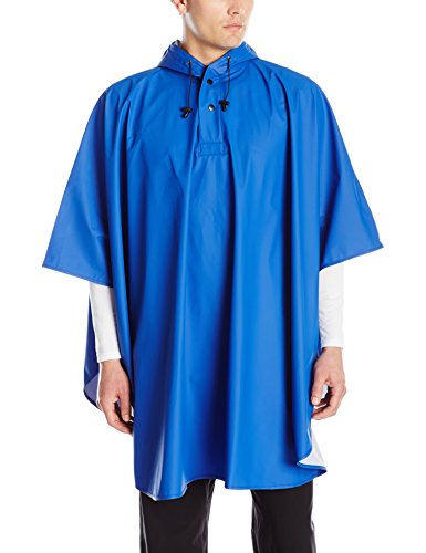 - Charles River Apparel Pacific Rain Poncho, Royal, One Size