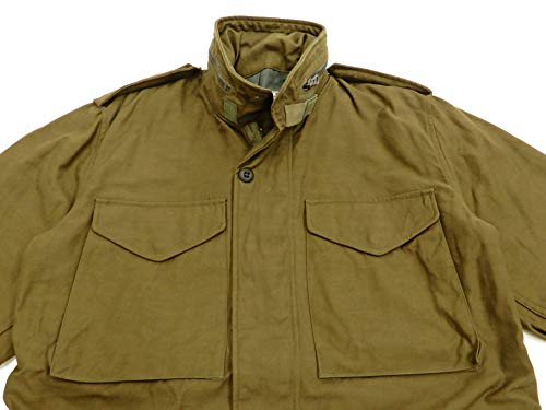 Buzz rickson's Men's M-65 Field Jacket 2nd Model M65 Military Field Coat BR11702