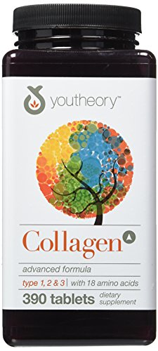Youtheory Collagen Advanced Formula Tablets For Hair and Nails
