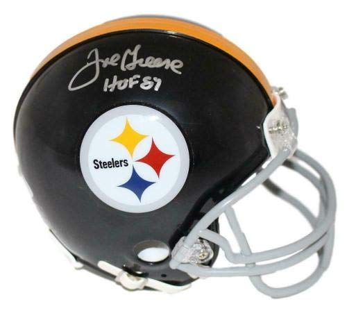Joe Greene Pittsburgh Steelers Signed Autograph Mini Helmet Tristar Authentic Certified