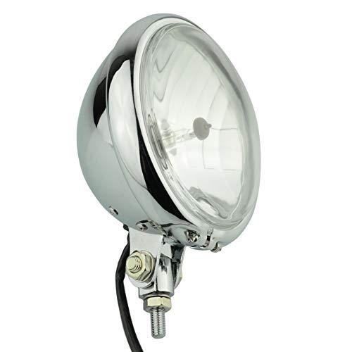 Motorcycle Chrome Vintage Headlamp 5.75