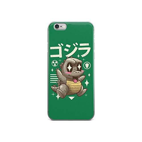 iPhone 6/6s Pure Clear Case Cases Cover Kawaii Lizzardh God-Zilla Art Cute Cartoon]()