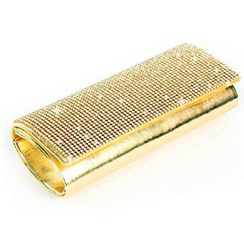 Eleoption pour Pochette Rectangle Gold femme rBrxnO
