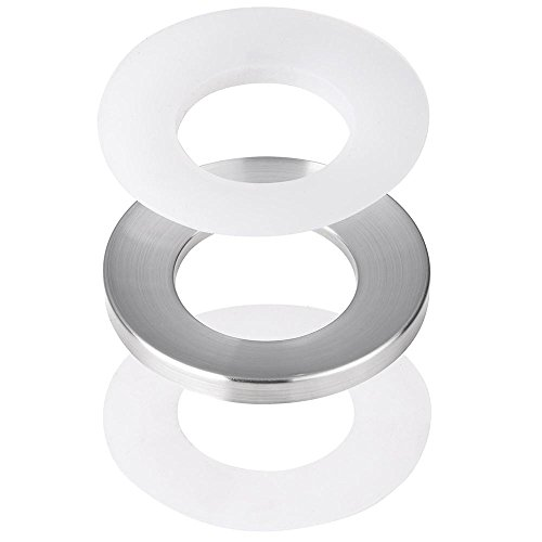 Plastic Ring Spacers : Yescom quot nickel mounting ring spacer abs plastic