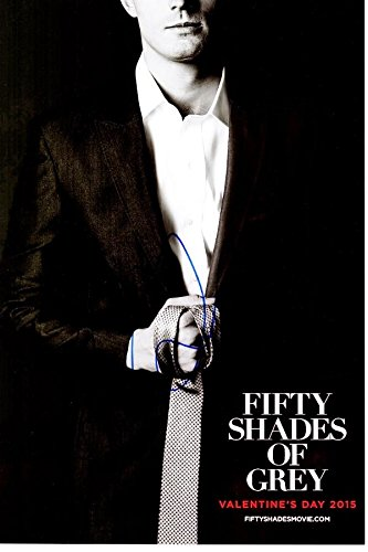 Jamie Dornan Signed - Autographed Fifty Shades of Grey Actor 10x15 inch Mini Movie Poster Photo - Guaranteed to pass BAS - 50 Shades of Grey - Christian Grey - Beckett Authentication