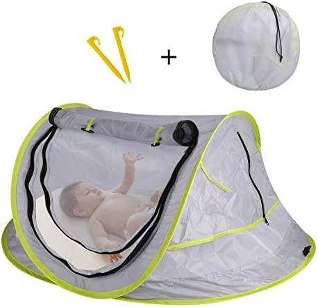 OhhGo Draagbare Outdoor Opvouwbare Strand Kind Tent Luifel Uv Zonwering Baby Shelter