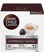 Nescafé Dolce Gusto Espresso Napoli, Caffè Espresso, 6 Confezioni da 16 Capsule, 96 Capsule