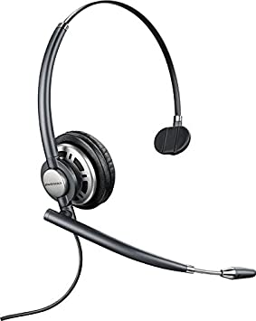 Plantronics 78712-101 EncorePRO 710 Wired USB Headset, Black