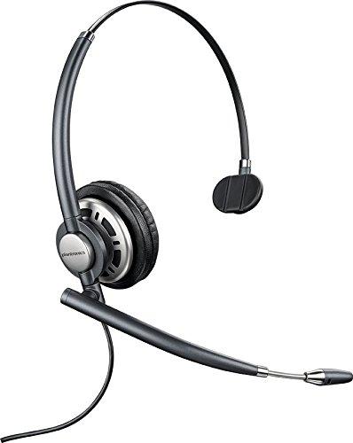 Plantronics 78712-101 Wired Headset, Black
