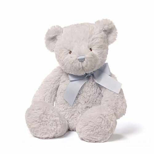 Blue Stuffed Bear - Baby GUND Peyton Teddy Bear Stuffed Animal Plush, Blue, 15