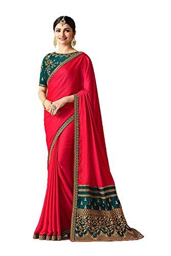 Da Facioun Indian Sarees For Women Partywear Ethnic Traditional Multicolor Sari by Da Facioun