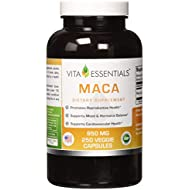 Vita Essentials Maca 950 Mg Veggie Capsules, 250 Count