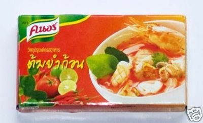 Knorr Thai Food Tom Yum Bouillon Cubes, Sour/Spicy, 72 Gram Shrimp Bouillon