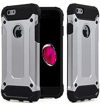 AMPLE® - Carcasa rígida para iPhone 8, Carcasa rígida de Doble Capa para iPhone 7, Carcasa Protectora a Prueba de Golpes para iPhone 7, iPhone 8 ...
