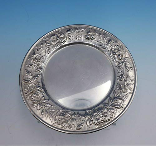 - Repousse by Kirk Sterling Silver Bread and Butter Plate #127 6