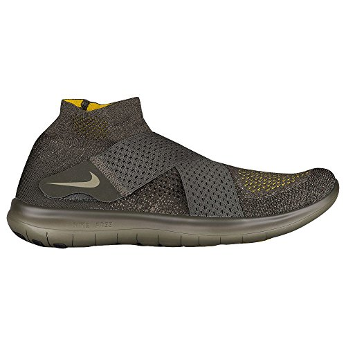 volt 2017 RN Sequoia Medium Olive Men's Flyknit Shoe Nike Running bright Citron Free S7AqfwU