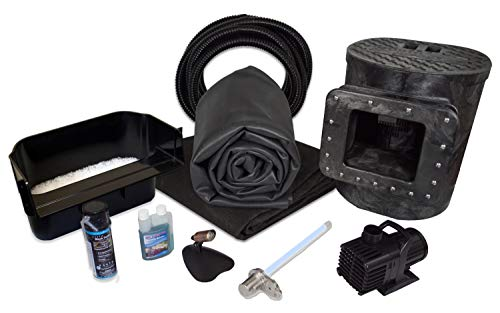 Half Off Ponds Savio Select 2000 with UV Complete Water Garden and Pond Kit, with 10 x 15 Foot EPDM Rubber Liner