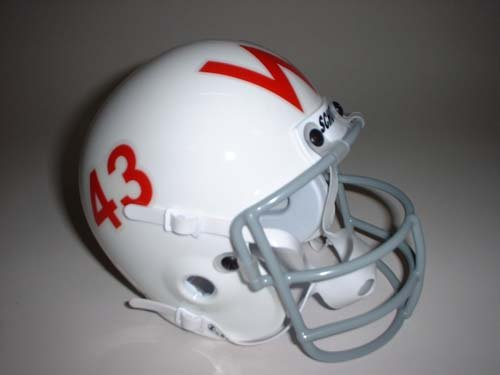Schutt Wisconsin Badgers 1961-1965 Throwback Mini Helmet