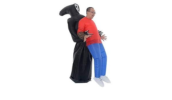 Lilou GG Disfraz Inflable Creations, Disfraz de Parca de la Muerte ...