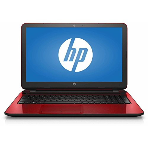 HP Flyer Red 15.6 Inch Laptop (Intel Pentium Quad-Core N3540 Processor up to 2.66GHz, 4GB RAM, 500GB Hard Drive,...