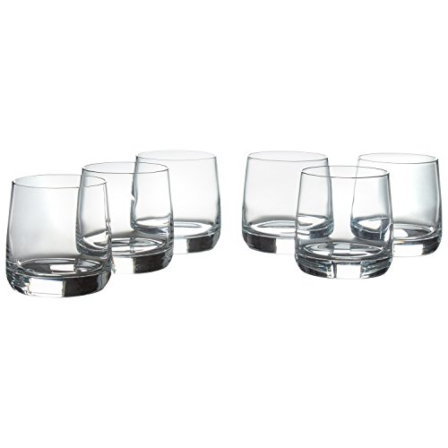 Stone & Beam Traditional Old Fashioned Glass, 13-Ounce, Pack of ()