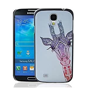 Giraffe Pattern Plastic Hard Protective Case for Samsung Galaxy S4 i9500