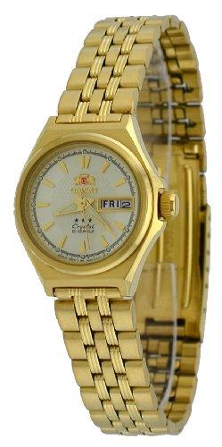 Orient #FNQ1S001C Women's Gold Tone Tri Star Gold Dial Automatic ()