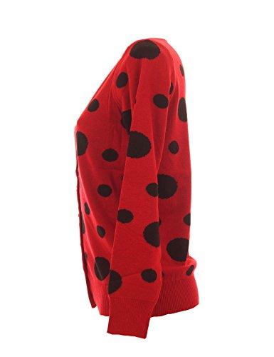 Finery - Cárdigan - Rebeca - para mujer Rojo