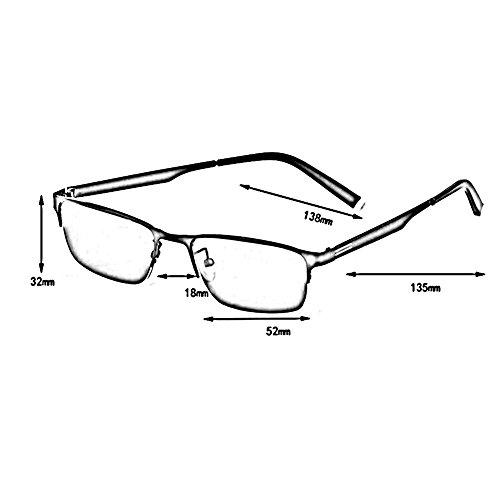 Color Marco Equipado De Puede con Movimiento Miopía Metal Ser ZX 1 Aleación Polarizada 1 Gafas Sol Luz De De UV HD Anti Titanio Hombres Gafas Conductor RqHgPFw