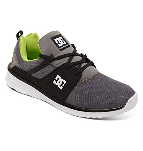 green Gris Sneakers Heathrow Shoe Grey M Dc Shoes Hommes Basses black HqvanSUwx0