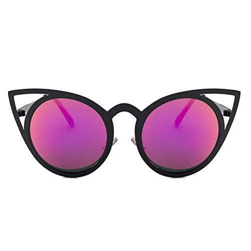 Elegantstunning De C4 Frame Femme Soleil Purple Lens Lunette Black rrn5wB8SAq