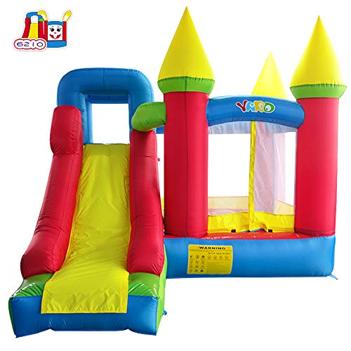 - YARD Bounce House with Slide Indoor Inflatable Jump Castle for Kids with Blower ( 11.5'x 9.8'x 8.9')