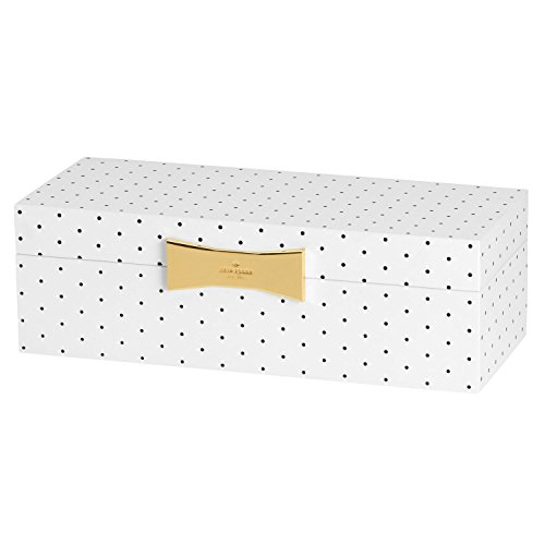 Kate Spade New York Garden Drive Spot Large Rectangular Jewelry Box by Lenox