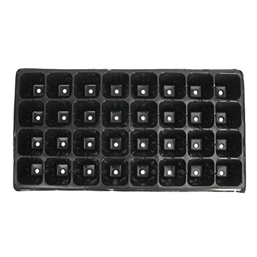 10Pcs 32 Cell Seedling Starter Trays Seed Germination Garden Plant Propagation P