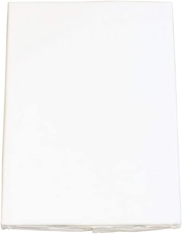 FULI 100% Cotton Cover for Traditional Japanese Floor Futon Mattress, Twin XL, Pure White. Made in Japan