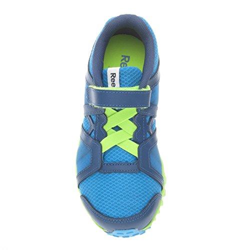 Reebok Realflex Train Rs 2.0 Alt - Zapatillas de Piel para hombre Azul Blu/Verde 27 kG0tvx3u