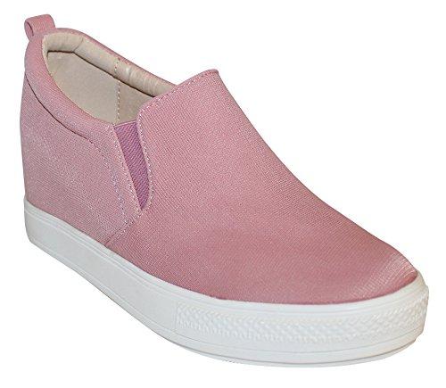Wilde Dames Aravalli Fashion Wedge Sneaker Roze