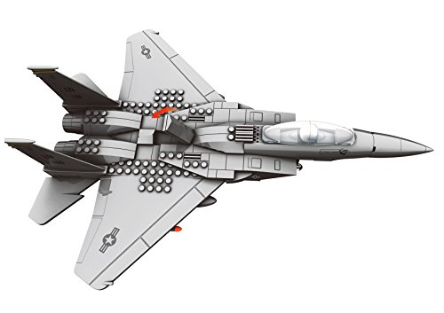 Amazon.com: Top Race Interlocking Building F15 Fighter Jet ... on big radio control airplanes, toy factories, toy airplanes amazon, blue box model airplanes, toy machinery, toy soldiers, toy commercial airplanes, marx toy airplanes, toy airplanes on a line, toy aeroplane, die cast metal toy airplanes, toy planes, toy airplanes ebay, toy trains, remote control airplanes, stuffed toy airplanes, toy airplanes for toddlers, toy passenger airplanes, toy airplane games, tiny toy airplanes,