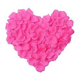 CATTREE Rose Petals, 3000 PCS Artificial Petals Silk Wedding Flower Decoration 3