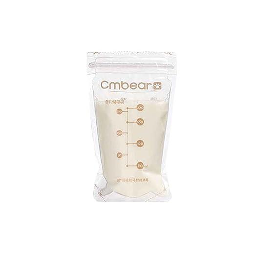 Provide The Best Breast Milk 30pcs Cmbear Congelador Bolsas ...