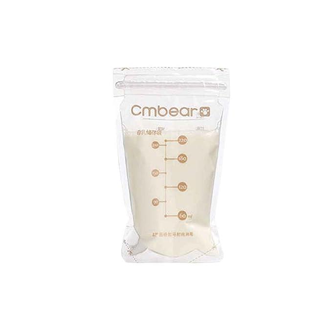 GankmachineBreast Milk 30pcs Cmbear Congelador Bolsas de ...