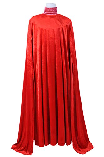 Star Wars Emperor's Royal Guard Cosplay Costume Dress Red]()